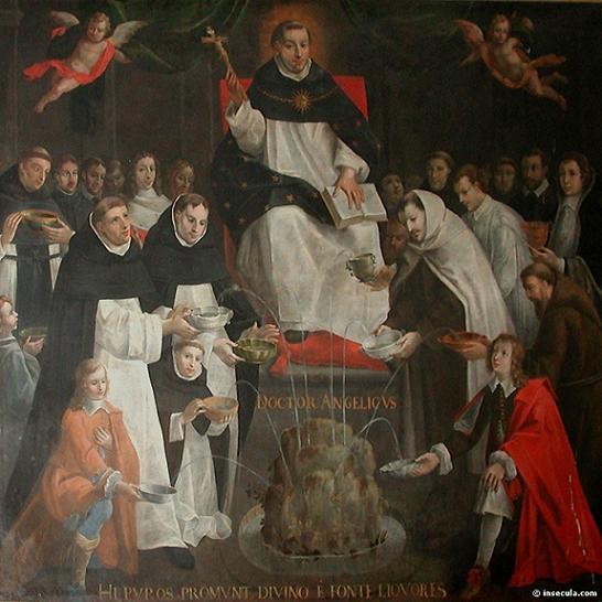 LE BLASPHÈME EN GÉNÉRAL. Saint_Thomas,_Fontaine_de_la_Sagesse,_Antoine_Nicolas,_v._1648