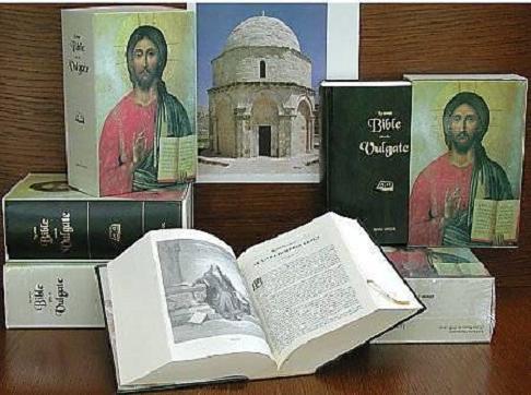 La Sainte Bible selon la Vulgate traduite en français par l'Abbé J.-B. Glaire, Nouvelle Edition, Editions D.F.T. 2002