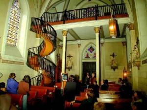 l escalier de santa fe roi