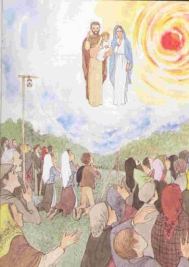 Présentaion de Jean-Baptiste Dessin-NDame-Fatima-Apparition-09